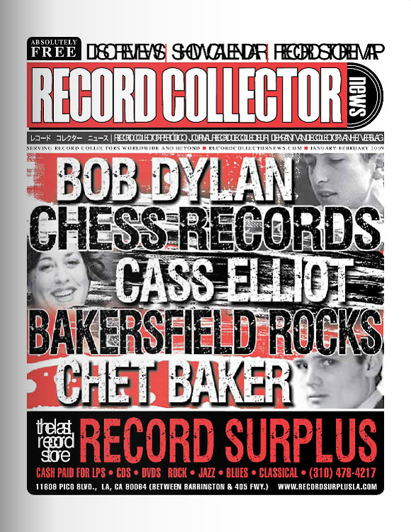 Chess Records Record Collector News January cover