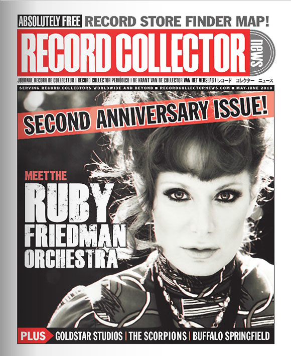 Ruby Friedman Record Collector News May cover