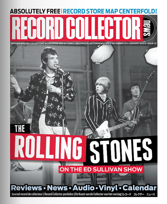 The Rolling Stones Record Collector News December cover