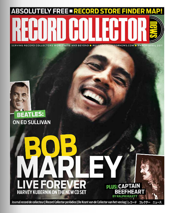 Bob Marley Record Collector News March cover