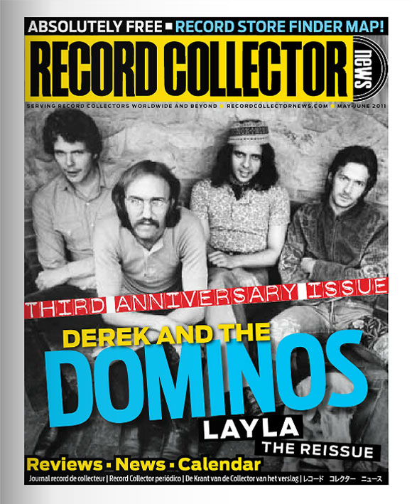 Derek and The Dominos Record Collector News May cover