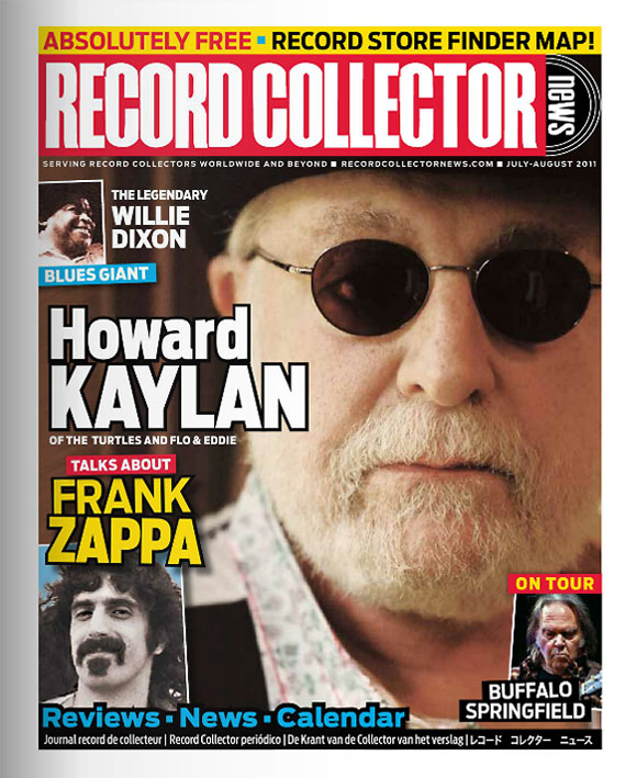 Howard Kaylan Record Collector News cover