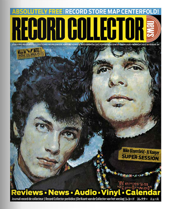 Super Session Record Collector News February cover