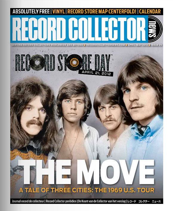 The Move Record Collector News April cover