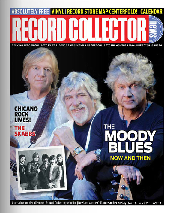 Moody Blues Record Collector News May cover