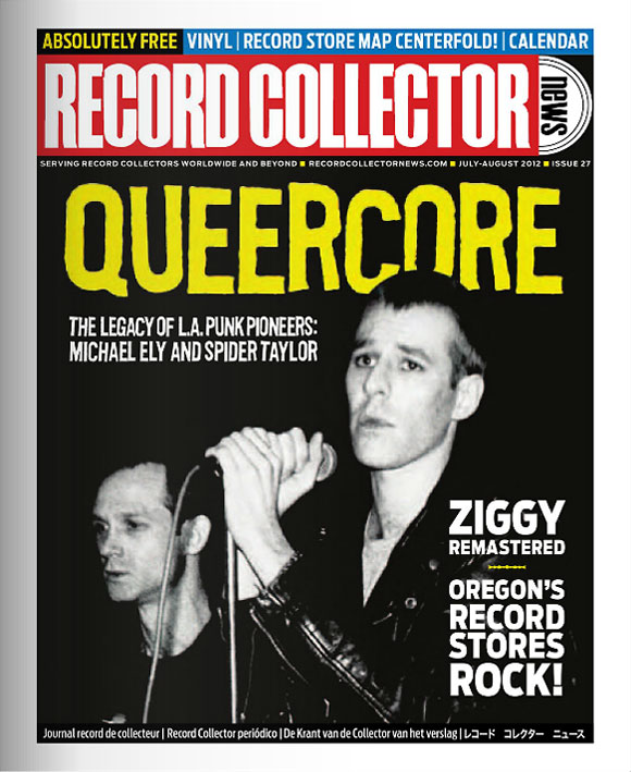 Queercore Record Collector News July Cover