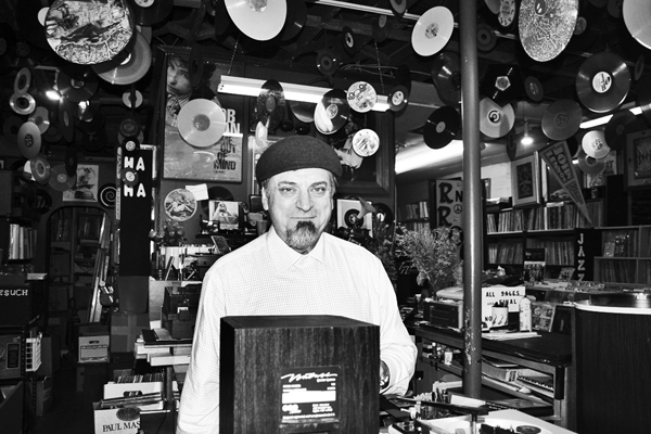 House of Records Tacoma Owner Peter