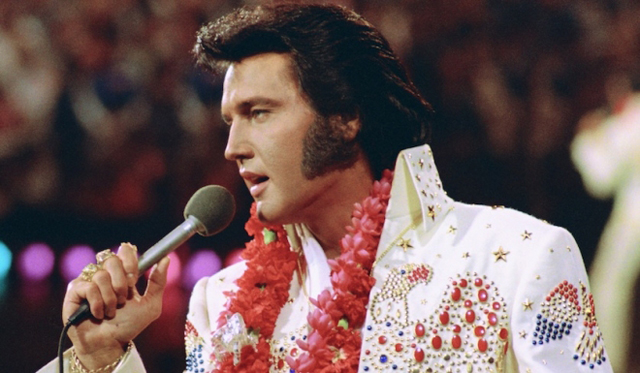 ELVIS PRESLEY'S ALOHA FROM HAWAII VIA SATELLITE - 40th