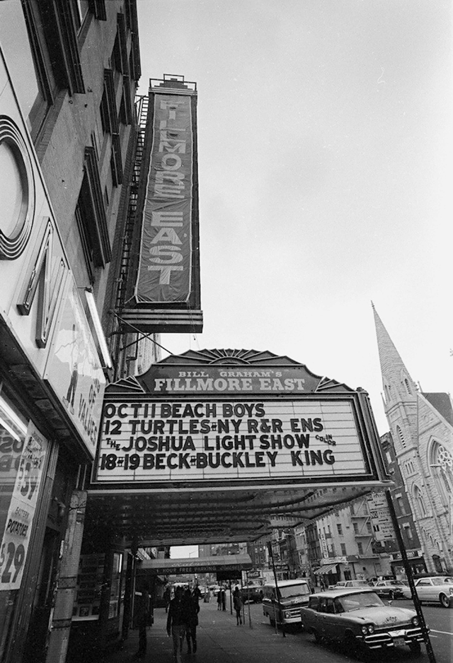 Fillmore East '68 Marquee