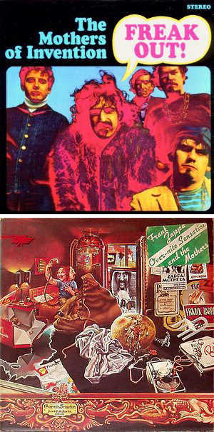 Frank Zappa Mothers of Invention Overnight Sensation Freak Out