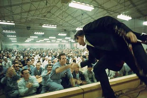 Johnny Cash 1968 performance