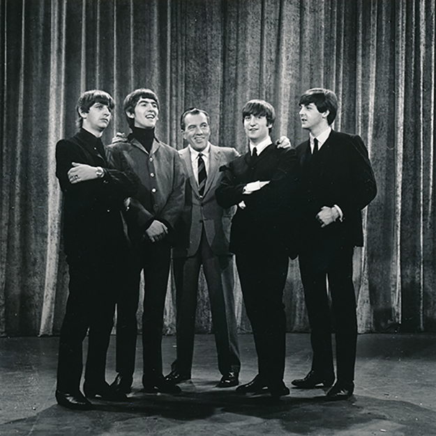 Ed-Sullivan-The-Beatles-pose-1964