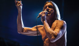 Iggy Pop fronts the Stooges at Brussels Summer Festival, 2012. Photo by Eddy Berthier.