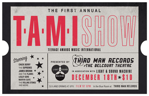T.A.M.I. Show Ticket