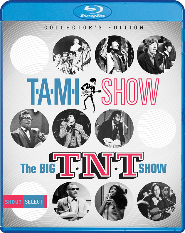 T.A.M.I. Show and The Big T.N.T. Show on Blu-ray