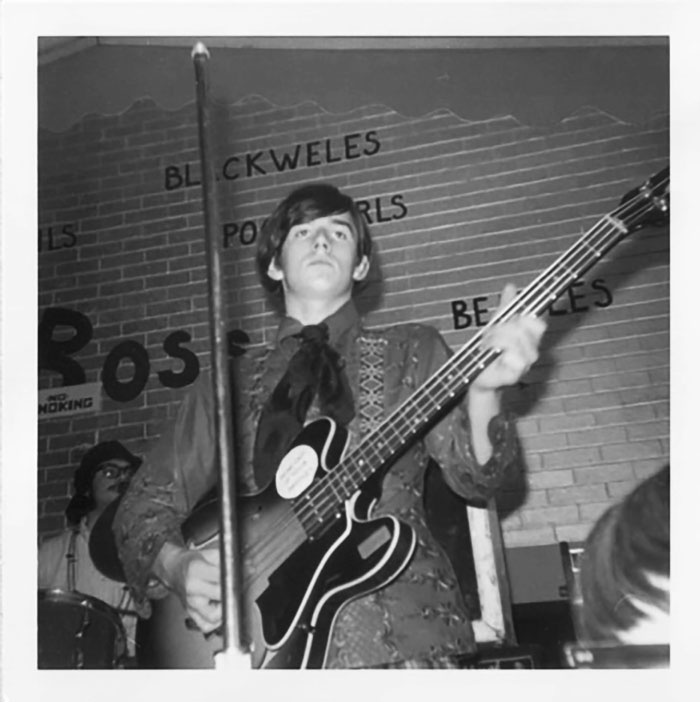 Tom Kriss performing as The James Gang in November 1967 at Cleveland's Boss Teen Club. Courtesy of Veronica Collins