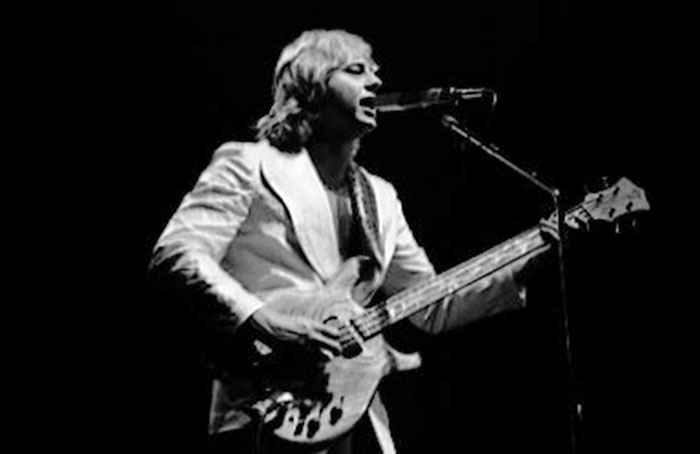 Greg Lake, Maple Leaf Gardens, Toronto, Feb. 3, 1978 PHOTO: JEAN LUC