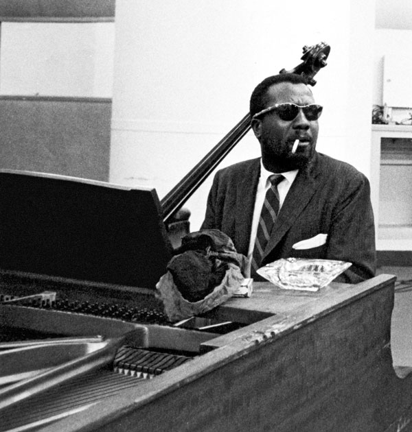 Thelonious Monk. Photo by Bob Parent