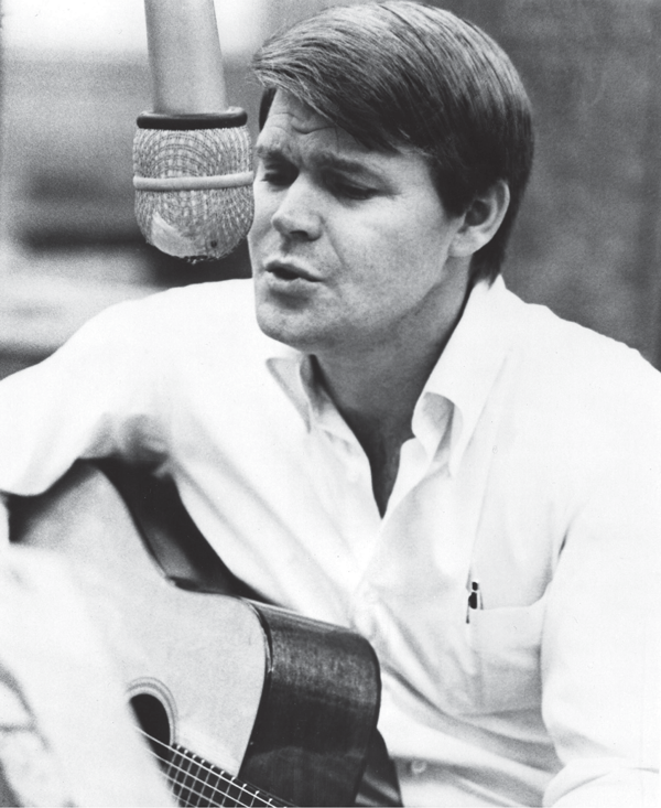 Glen Campbell in the recording studio, courtesy MVD Visual