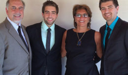 John and Loretta Grado with sons Matthew (L) and Jonathan (R)
