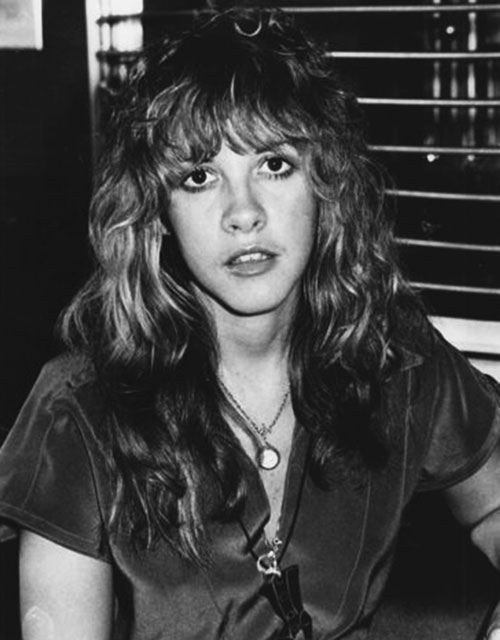 Stevie Nicks, 1977. Wikimedia Commons.