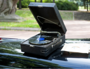 Keep your records out of the sun on those summertime road trips