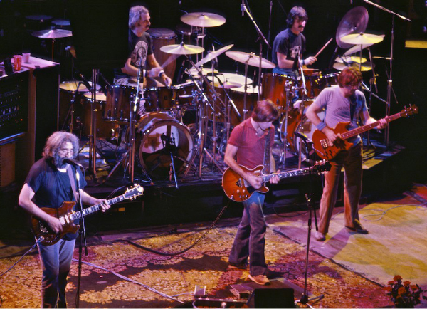 The Grateful Dead at The Warfield, San Francisco, October 1, 1980 WIKIMEDIA COMMONS, Chris Stone