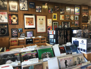 Blue Moon Discs is loaded with music memorabilia