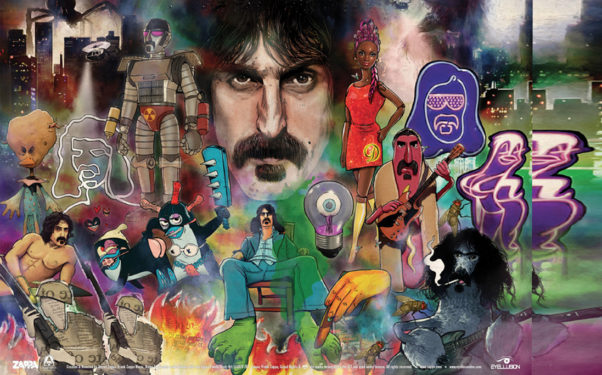 Artwork from The Bizarre World of Frank Zappa