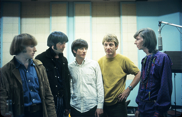 Buffalo Springfield, at Gold Star Studios, June 1966. Henry Diltz
