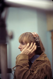 Stephen Stills, at Gold Star Studios, June 1966. HENRY DILTZ