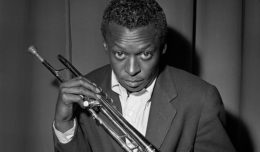 In 1949, Miles Davis was a determined 22-year-old — Birth of the Cool saw him helm a creative project for the first time © Herman Leonard Photography, LLC
