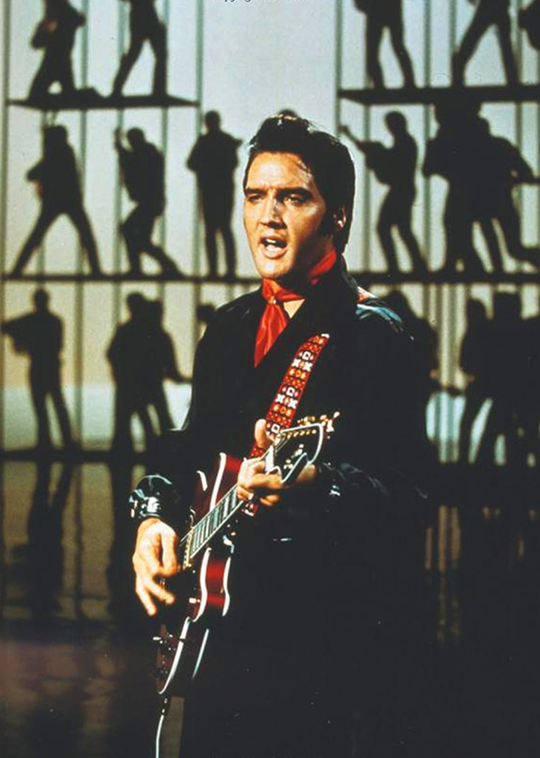The Singer Presents Elvis television special aired in December 1968