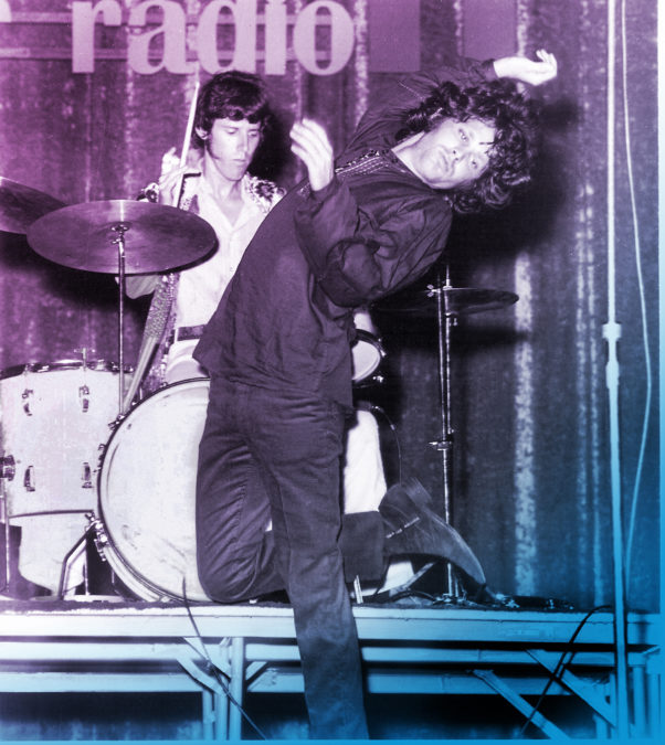 "According to one-time Doors publicist, Danny Fields, Jim Morrison (right) ""caused problems for everyone around him and set a new bar for 'assholism.'"" Photo by Ida Miller."