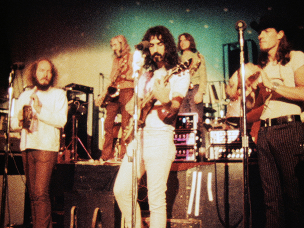 Frank Zappa performing with the Mothers of Invention in ZAPPA, a Magnolia Pictures release. Copyright CAL SCHENKEL. Photo courtesy of Magnolia Pictures
