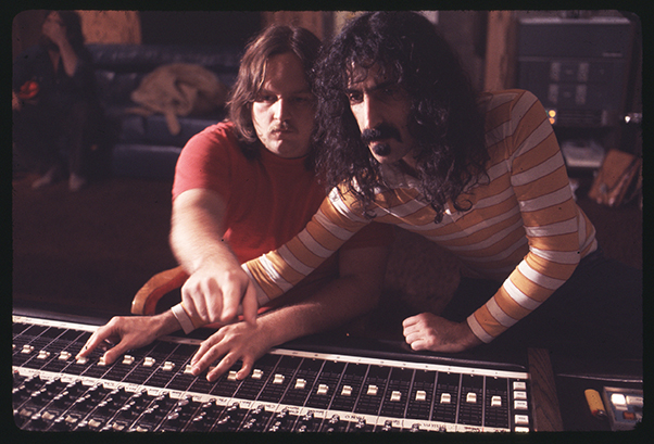 Kerry Mcnabb and Frank Zappa in Zappa, a Magnolia Pictures release. Copyright Yoram Kahana. Photo courtesy of Magnolia Pictures
